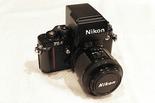 Nikon F3 Auto Focus Film Camera with 80mm AF Lens, vintage and collectable