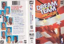 BASKETBALL ~ DREAM TEAM VHS PAL VIDEO~A RARE FIND