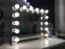 Mirrored edge Hollywood Makeup Mirror with lights, Vanity Make Up Beauty Mirror