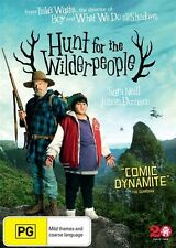 HUNT FOR THE WILDERPEOPLE, DVD, NEW & SEALED, 2016 RELEASE, REGION 4.