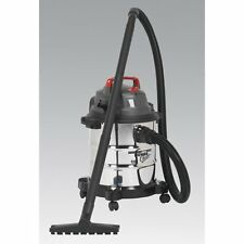 Wet and Dry Vacuum Cleaner Sealey PC195SD Industrial Vac 20L 230 volt Sealey Vac