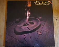 "FISCHER Z - Going Deaf For A Living 12"" LP 12"" Record"