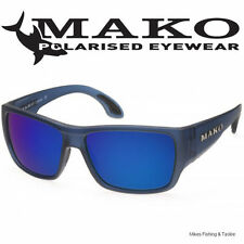 Mako COVERT - Blue Mirror Glass Sunglasses Polarised + Free Delivery + Warranty
