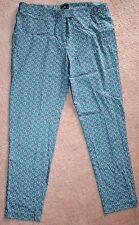 Dotti Floral Pants - Size 14 - Green