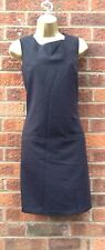 DEBENHAMS Black Tunic Dress  With Front Pockets Size 20