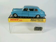 Dinky 152 Rolls-Royce Phantom V Limousine. Made in England Diecast. BOXED