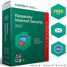 Kaspersky Internet Security 5 PC user / 5 Devices for Version 2017 Multi Device