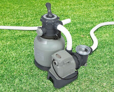 New GEnuine Intex 0.5hp SAND FILTER & PUMP Combo for Above Ground Pool 28646