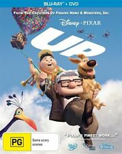 Up DISNEY (Blu-ray, 2010, 3-Disc Set)+ DVD RARE EDITION LIKE NEW CONDITION