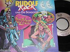 """7"""" - Rudolf Rock & Die Schocker / Herzilein & Rock Rudolf Rock - 1990"""