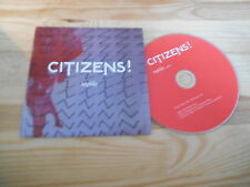 CD Indie Citizens ! - Reptile (1 Song) Promo KITSUNE MUSIC / COOP cb
