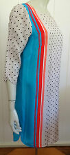 Country Road elegant 3/4 sleeve straight silky dress size 12 (US 8)