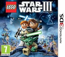 Nintendo 3DS Game Lego Star Wars (III) 3 - The Clone Wars 2DS compatible NEW