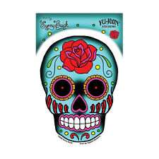 Rose Sugar Candy Skull STICKER / DECAL Sunny Buick