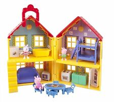Peppa Pig Peppa's Deluxe House Play Set with 3 Figures ~ BRAND NEW IN BOX
