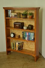 vintage bookcase bookshelf wooden farmhouse rustic solid wood UK DELIVERY