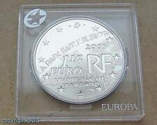 Silbermünze 1 1/2 Euro 2005 Frankreich 60 Jahre Frieden und Freiheit 8. Mai