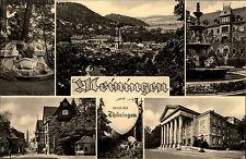 Meiningen Thüringen DDR gut frankierte s/w AK 1962 Totale Stadtpartie Theater