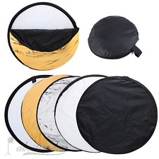 "32"" 80cm 5 in 1 Photography Studio Multi Photo Disc Collapsible Light Reflector"