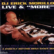 STRICTLY RHYTHM - Erick Morillo - Live & More - CD MIXED - HOUSE