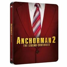 Anchorman 2 - The Legend Continues blu ray Steelbook - 2 disc set