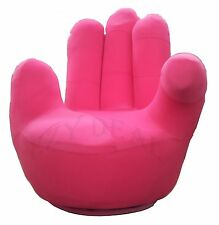 Brand New Adult size Swivel Hand Chair, Finger sofa 1 Seat Couch lounge * Pink