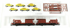 MARKLIN / WIKING HO GAUGE 94188 100 YEARS OF ADAC TRANSPORTER WAGON WITH CARS