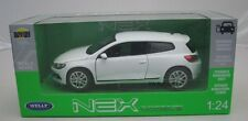 Welly Modelcar DieCast 1/24 VW Volkswagen Scirocco white New and Box