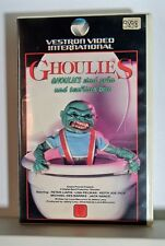 VHS Vestron GHOULIES 1985 Horror FSK 18 no DVD