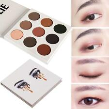 9 Colors Lady Eye Shadow Make Up Cosmetic Shimmer Matte Eyeshadow Palette Set GR