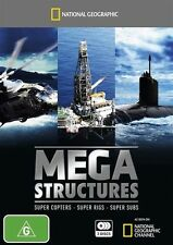 National Geographic -  Megastructures (DVD, 2010, 3-Disc Set) BRAND NEW