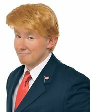 Donald Trump Wig Adult Costume Accessory Billionaire Hair Candidate Fancy Dress