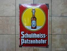 """EMAILLESCHILD """"Schultheiss-Patzenhofer"""" (1)"""