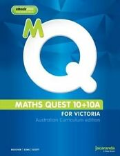 Maths Quest 10+10A for Victoria Australian Curriculum Edition & Learnon by...
