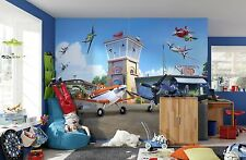 368 x 254cm Wall Mural photo Wallpaper PLANES FROM DISNEY STUDIO for boys room