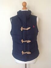 JACK WILLS  LADIES BLUE DOWN AND FEATHER GILET SIZE 10