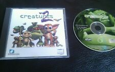 CREATURES 2 - PC GAME - FAST POST - COMPLETE - ORIGINAL EDITION - VGC