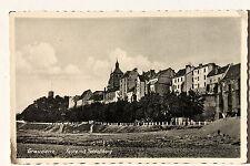 24913 AK Graudenz Feste mit Schloß - Berg Häuser um 1924