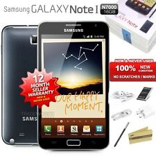 New Sealed Unlocked SAMSUNG Note 1 GT-N7000 Black 4G LTE Android Mobile Phone