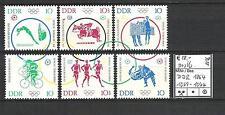 DDR 1964 Olympische Sommerspiele, Tokio (II) MiNr. 1039 - 1044 postfrisch