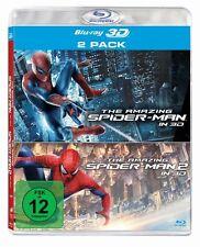 3D Blu-ray * The Amazing Spider-Man Teil 1+2 * NEU OVP (Doppelpack)