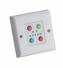 THERMOSTATIC TIMER CONTROL PLATE FOR TOWEL RAIL ELEMENT WHITE  PART NO. TCP200