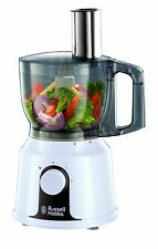 RUSSELL HOBBS 19001 FOOD PROCESSOR & BLENDER COMBINATION, WHITE, NEW