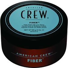 AMERICAN CREW FIBER. TEXTURE MATT FINISH. STRONG HOLD. LARGE 85G WAX