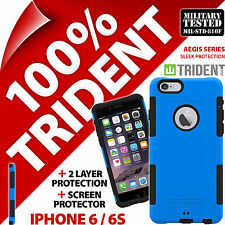 New Trident Aegis Protective Case Cover+Screen Protector for Apple iPhone 6 / 6S