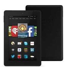 "Amazon Kindle Fire HD 7 8GB, Wi-Fi, 7"" BLACK LATEST 2016 Model SKYPE SOLDOUT"