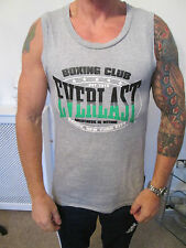 EVERLAST - GREY SLEEVELESS MUSCLE GYM T-SHIRT size SMALL