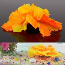 Silicone Aquarium Fish Tank Artificial Coral Plant Underwater Ornament Decor Hot