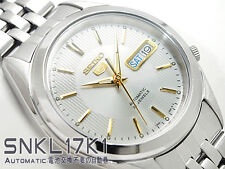 Seiko 5 Men's SNKL17K1 Stainless Steel Automatic Automatic 21 Jewels Watch