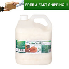 RAW EXTRA VIRGIN COCONUT OIL X 4 LITRES, USDA CERTIFIED ORGANIC, COLD PRESSED